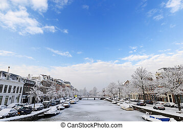 pays-bas, hiver