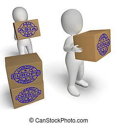pays, moyenne, importation, commercer, exportation, global, ...