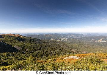 paysage, angle, vue, diablak, montagne, large