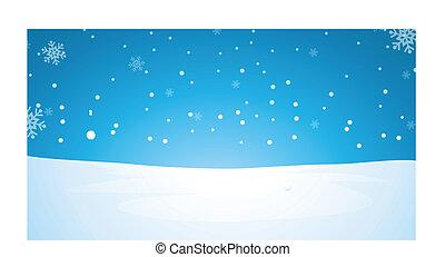 paysage hiver
