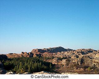 paysage, isalo