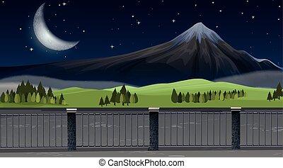 paysage montagne, nature