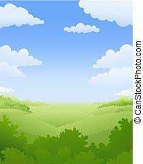 paysage., naturel