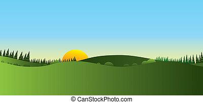 paysage, panorama