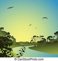 paysage rivière