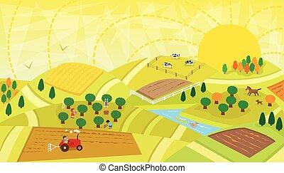 paysage rural