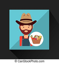 paysan, ouvrier, icône