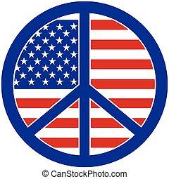 paz, em, américa