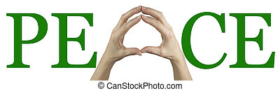 paz, es, en, su, manos