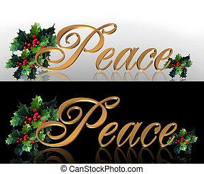 paz, navidad, gráficos