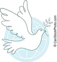 paz, paloma
