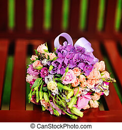 pazar, bridal bouquet
