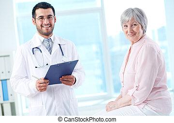 paziente, dottore