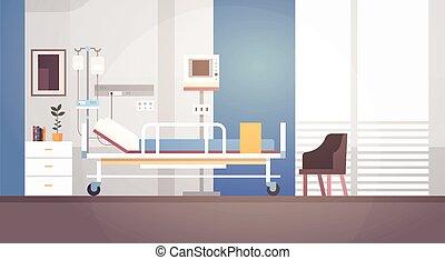 paziente, stanza, spazio, ospedale, intensivo, terapia, ...