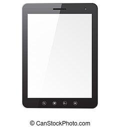 pc, écran, informatique, tablette, vide