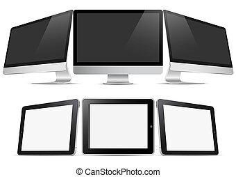 (pc), υπολογιστές , δέλτος , τρία , desktop