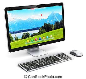 pc コンピュータ, デスクトップ