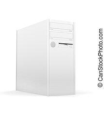 pc, 고립된, 탁상용 컴퓨터