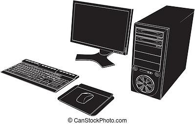 pc, 탁상용 컴퓨터