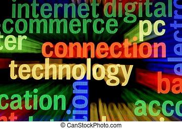 pc, conexão, tecnologia