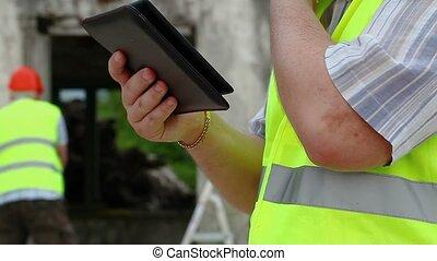 pc, constructeur, tablette