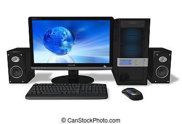 pc, desktop