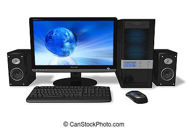 pc, desktop