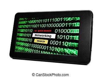 pc, gestion réseau, tablette