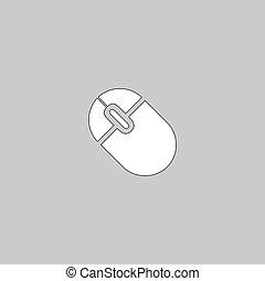 PC mouse computer symbol