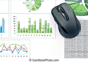 PC mouse on charts