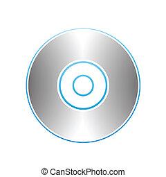 pc, przybory, cd, dvd, blu-ray, dysk
