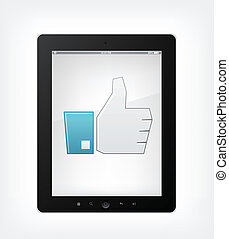 pc, satz, tablette