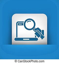 Pc search icon
