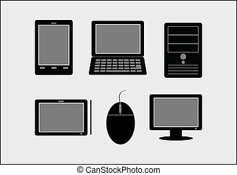 PC , tablet, laptop, smartphone