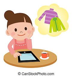 pc, tablette, achat internet