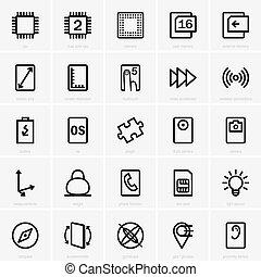 pc, tablette, caractéristiques
