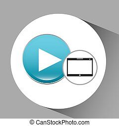 pc, tecnologia, vídeo, tabuleta, jogador