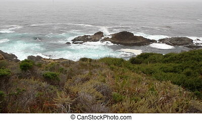 California coast line