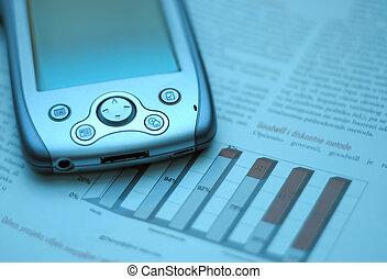 PDA and chart