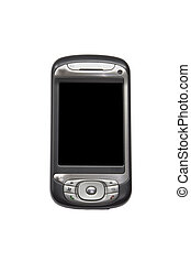 pda black screen