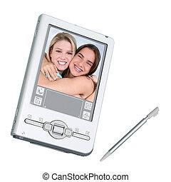 PDA Digital Camera - Silver palmtop (personal organizer) /...