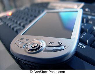 PDA on Keyboard