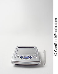 PDA on white background
