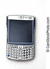 PDA Phone II - A PDA flip phone against a white background