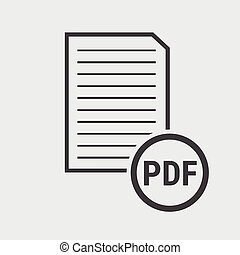pdf, アイコン