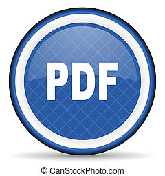 pdf blue icon