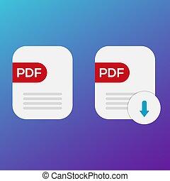 pdf book download icon