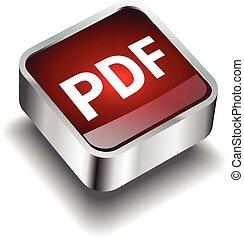 pdf download icon button internet