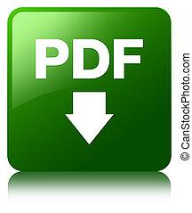 PDF download icon green square button