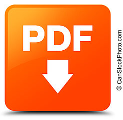 PDF download icon orange square button
